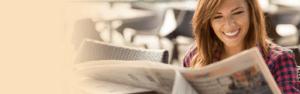 Image of Woman Reading Ironstone Condos News