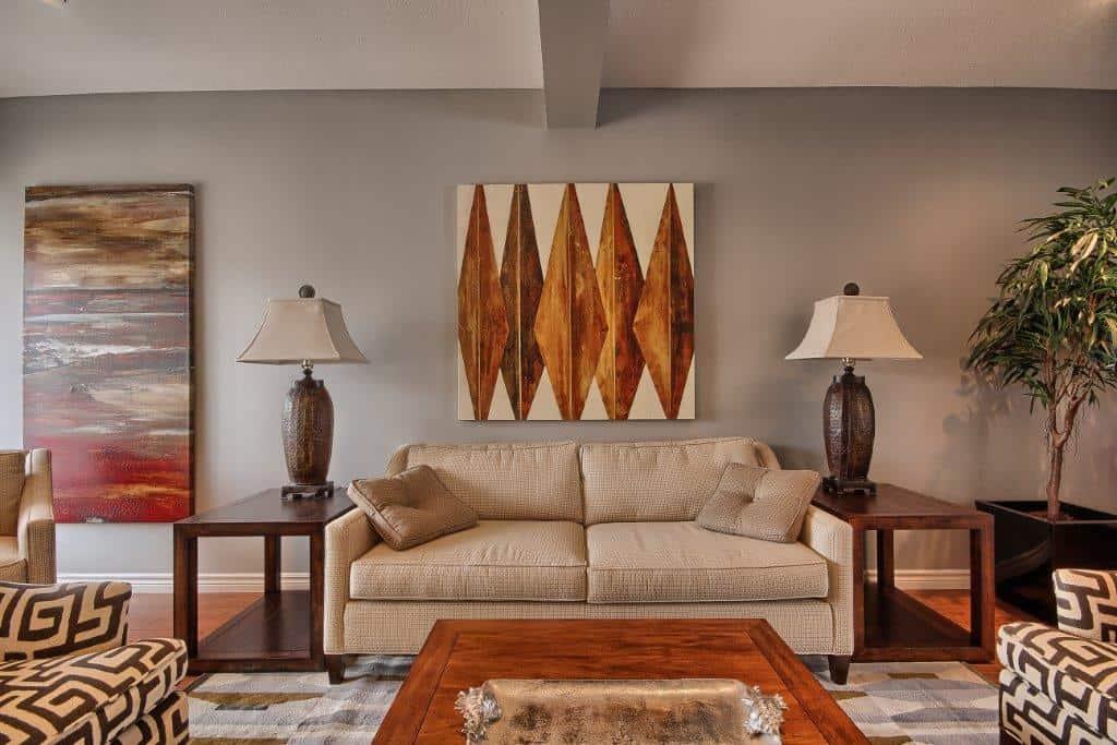 Living Room in Ironstone Condo London