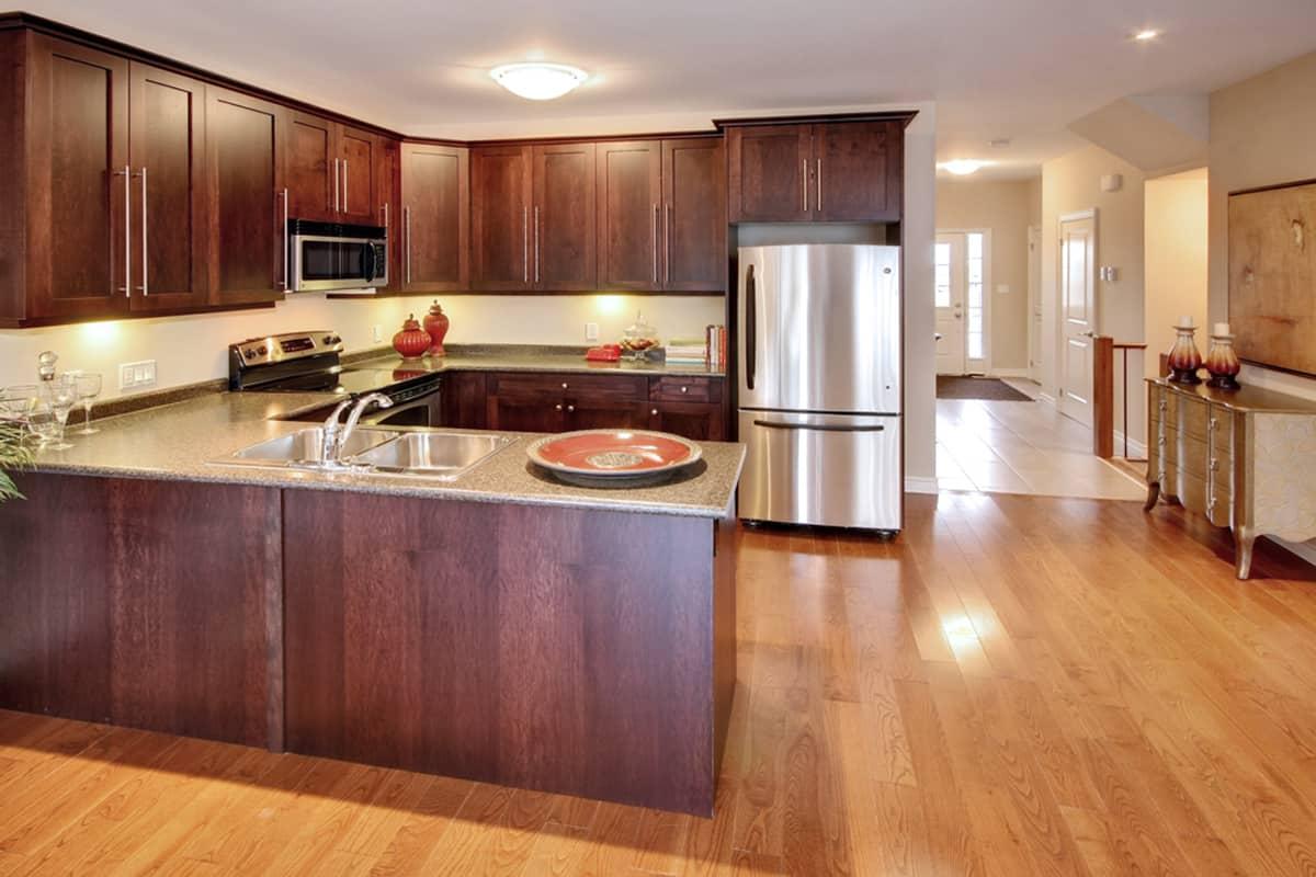 Ironstone Condo Built Kitchen Photo