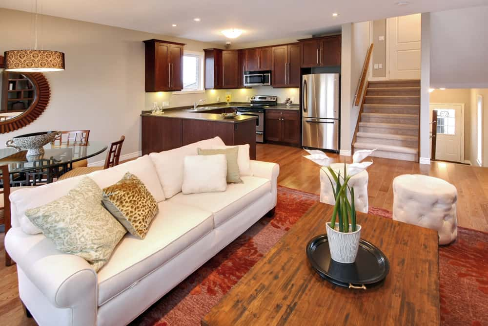Living Room in Ironstone Condo London