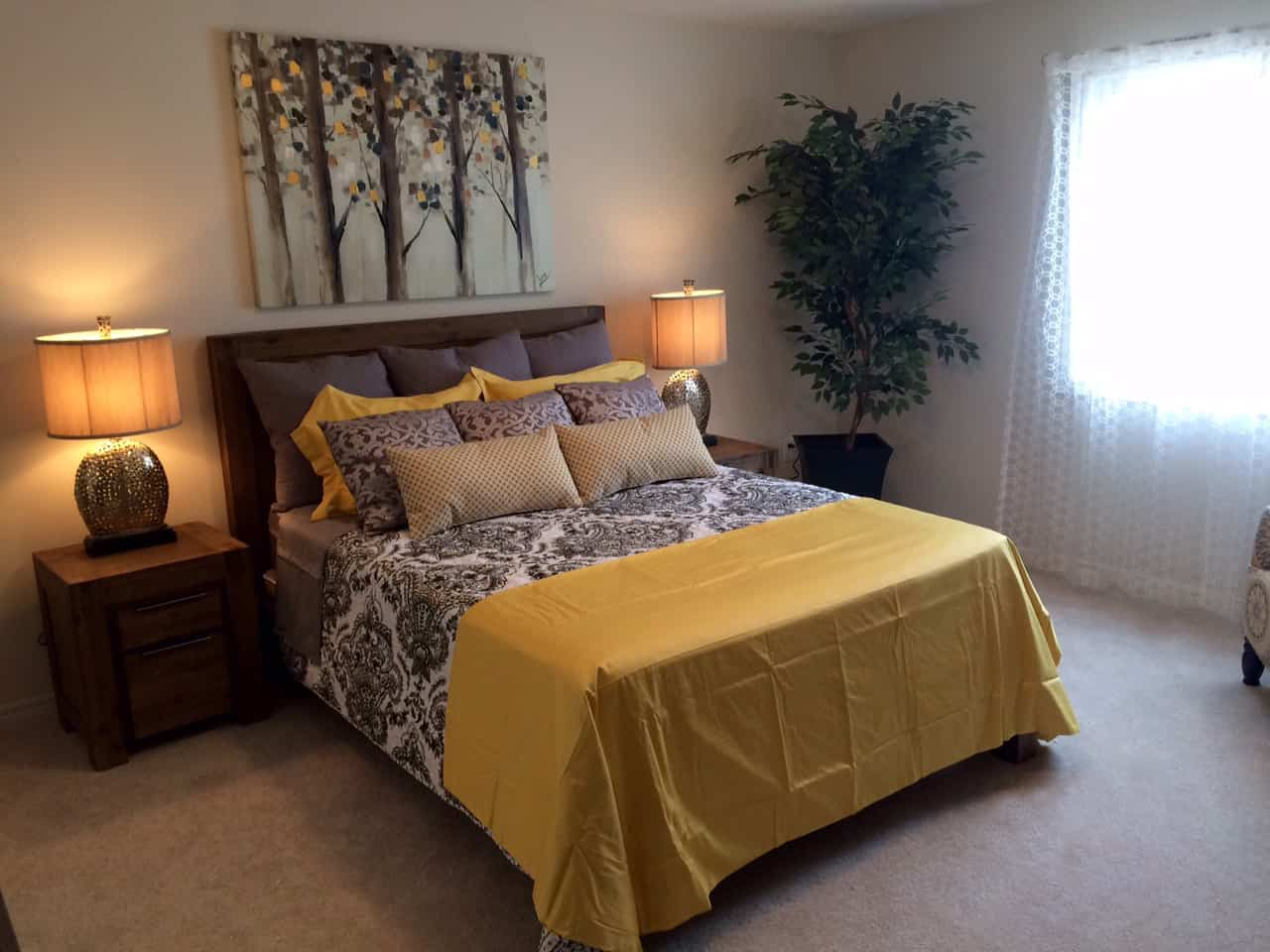 Ironstone Condo Master Bedroom