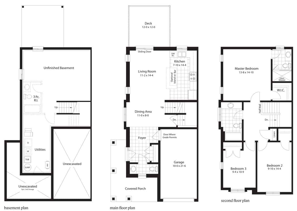 golden oak floorplan