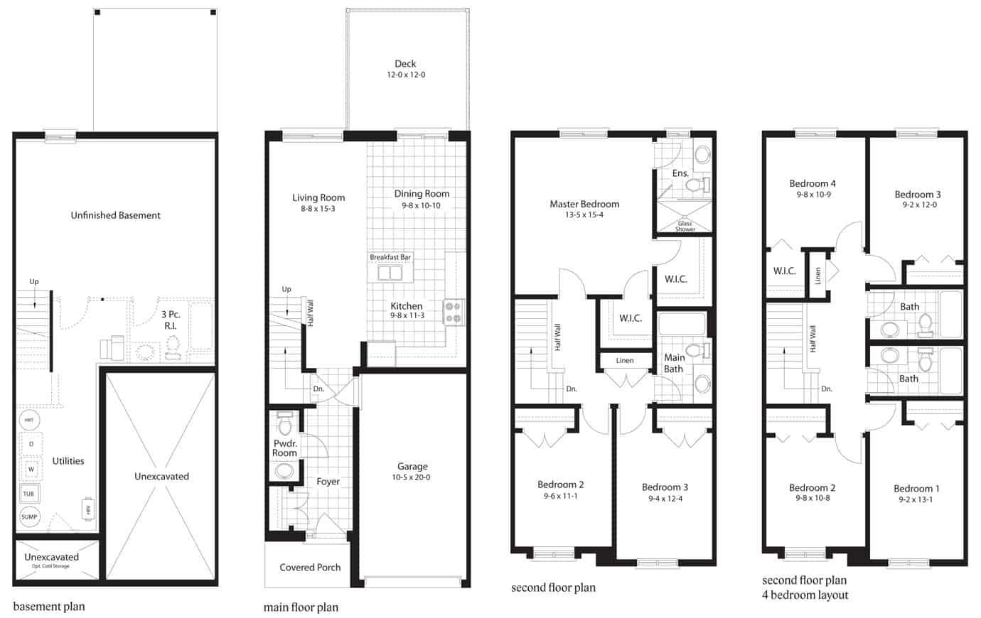 Pin Oak Floorplan