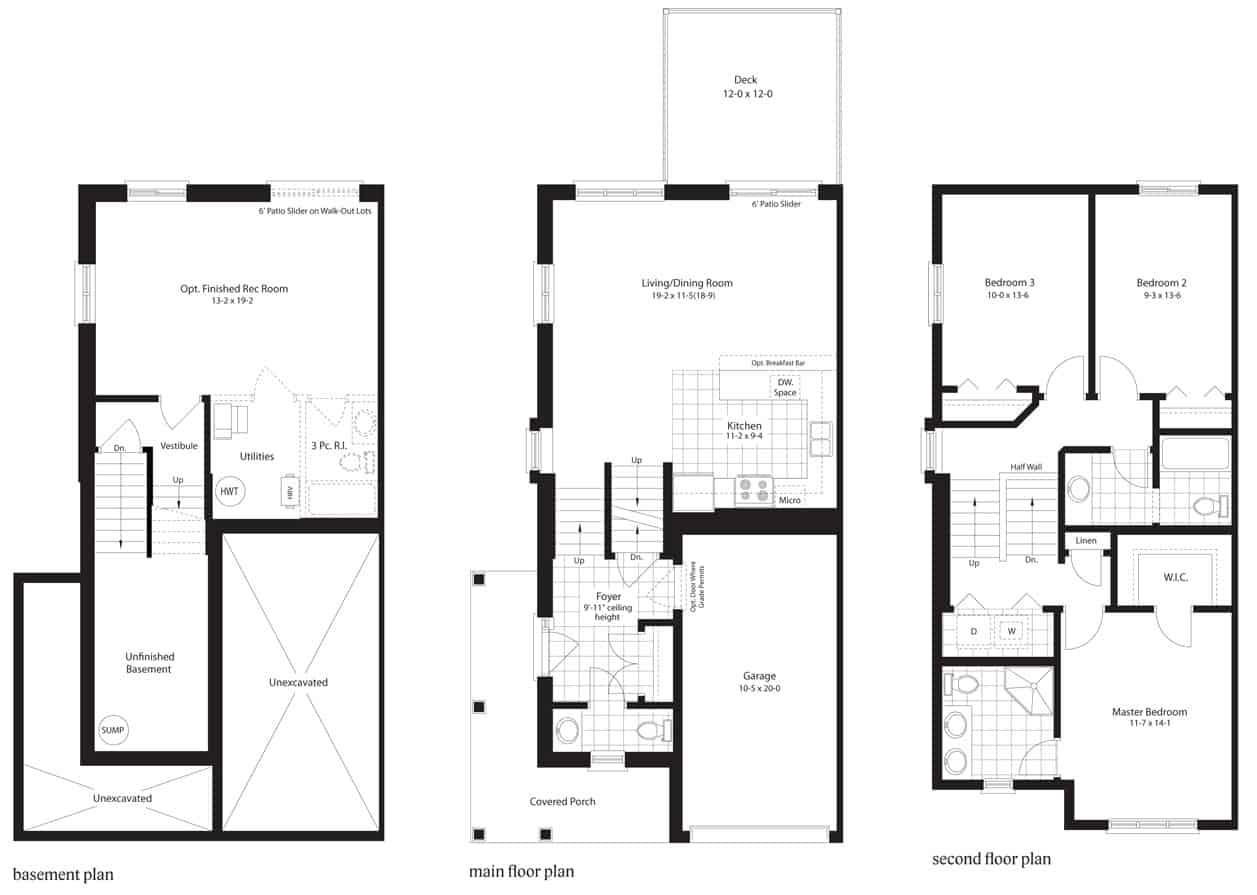 Sawtooth Floor Plan
