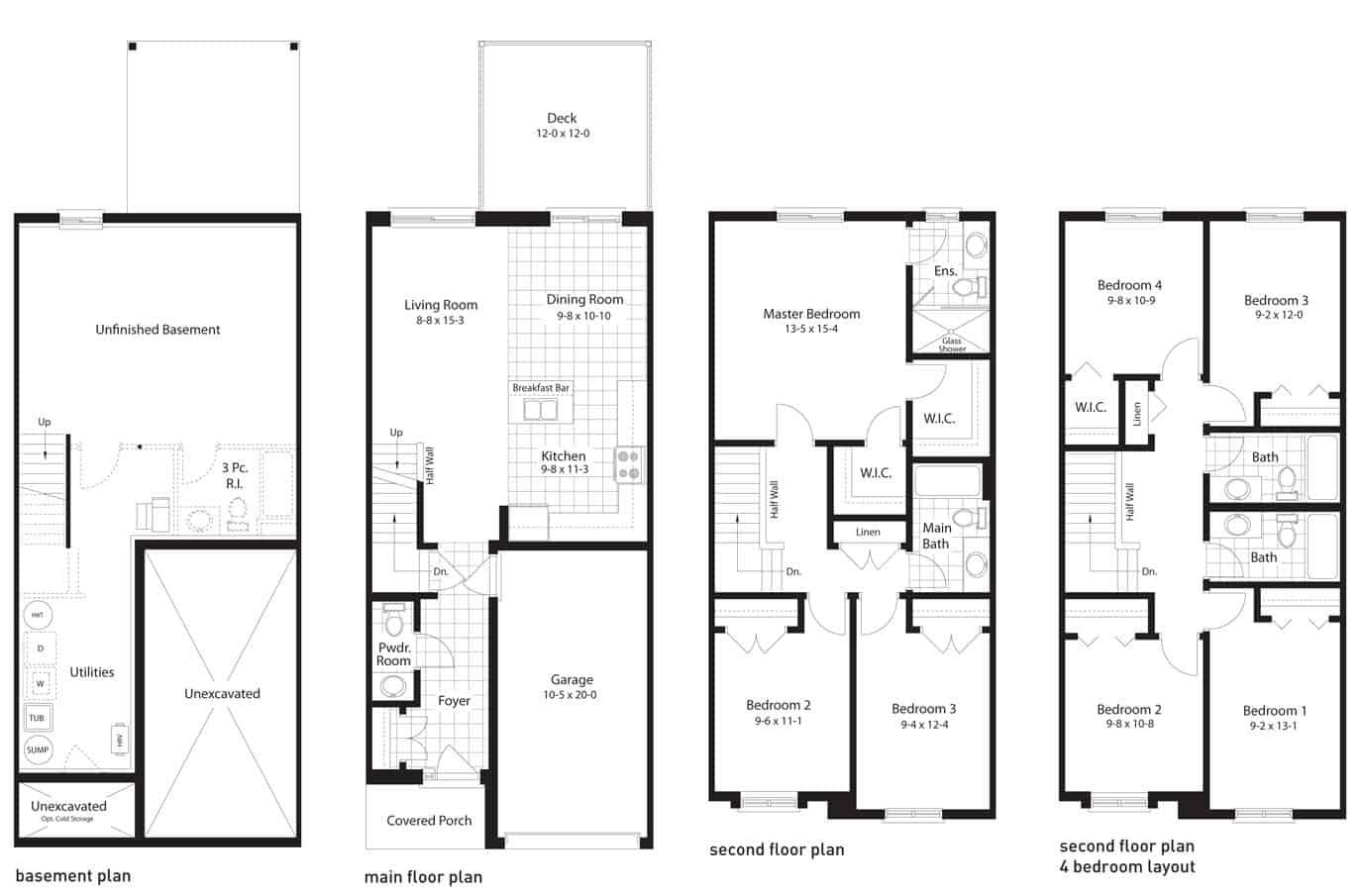 tidewater floorplan