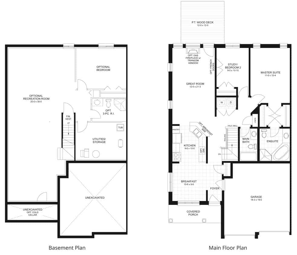 westbrook floorplan