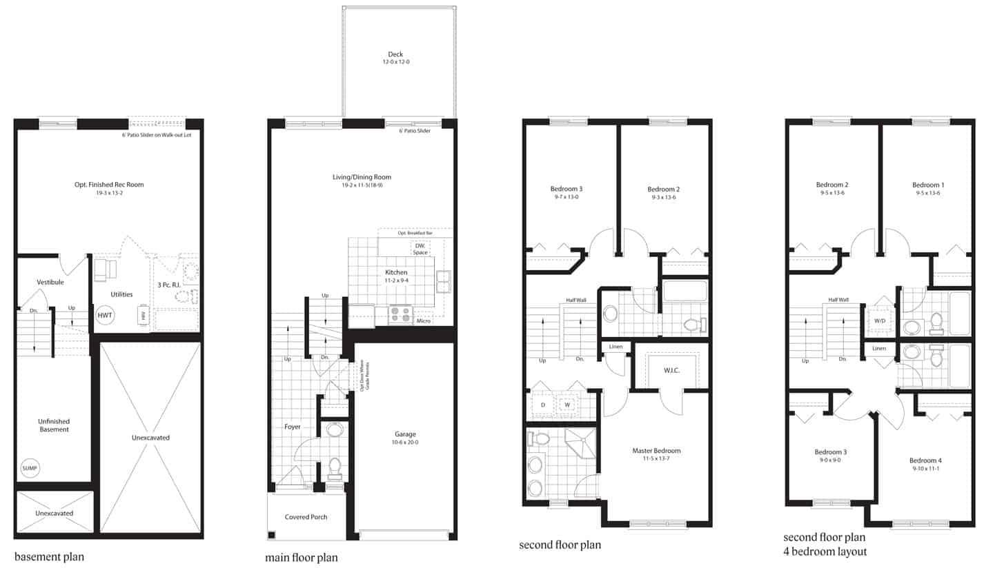 Whiteoak Floor Plan