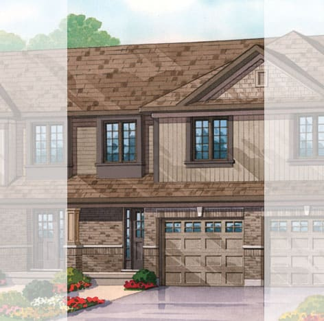 White Oak Pin Oak Home Rendering