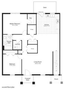 Image of The Balsam Floorplan - Ironstone Condos