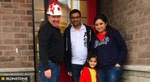 Photo of Ironstone Builder and Family