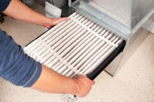 Photo of Changing Furnace Filter