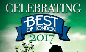 Award Best of London 2017 New Home Builder London Ontario