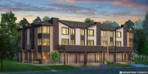 Rendering of BAJA Town Home London Ontario