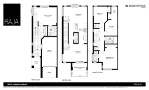 BAJA - BOCA Town Home Floorplan London Ontario