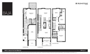 #Ironstonebuilt #RealEstate #London #HydePark #Floorplan #BAJA #Condos #Townhouse