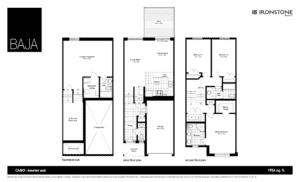 CABO Model - BAJA Town Home Floor London Ontario