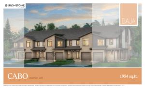 CABO Model - BAJA Town Home London Ontario