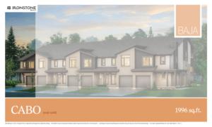 CABO Model - BAJA Town Home Floorplan London Ontario