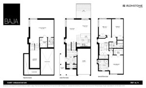 CABO Model - BAJA Town Home Floorplan London Ontario