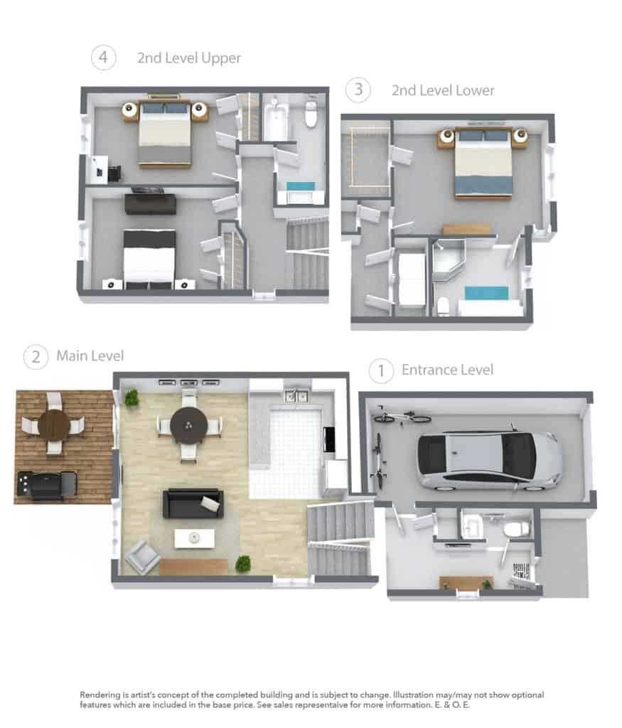 CABO 3d Floor Plan