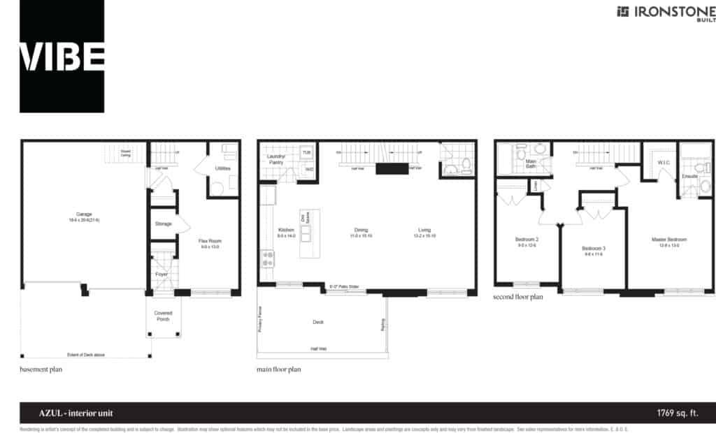 VIBE Floor Plan Drawing