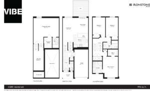 VIBE CABO Interior Floor Plan Drawing