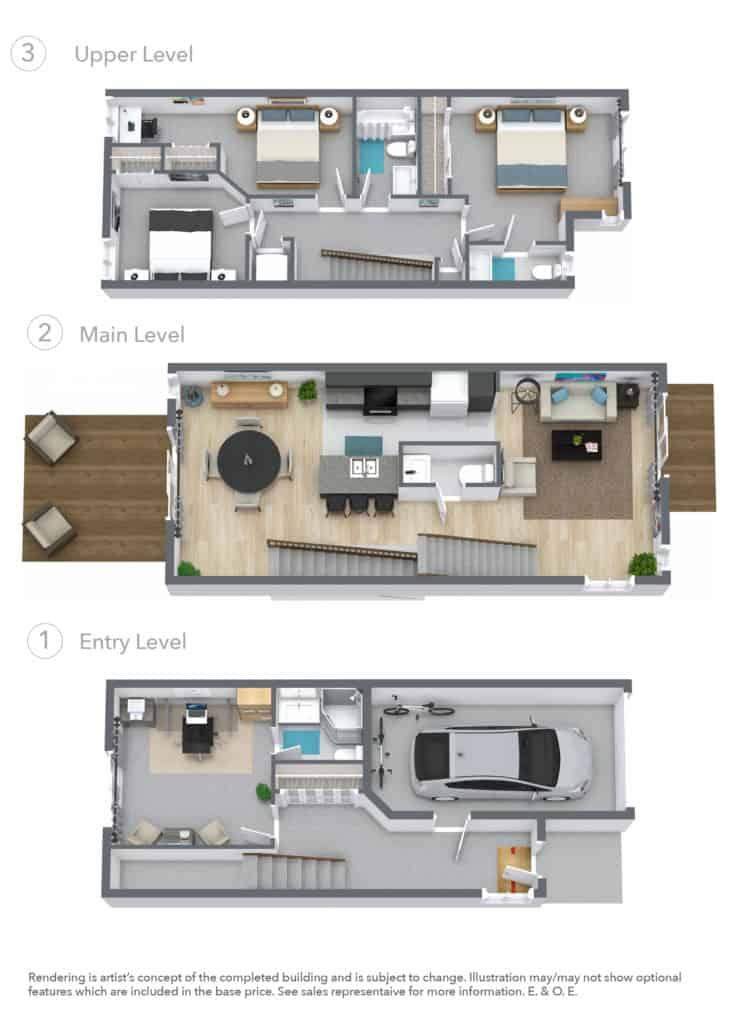 New BOCA Home Floor Plan
