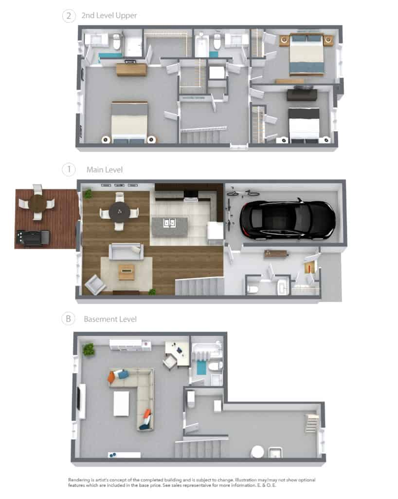 LUNA 3d Floor Plan
