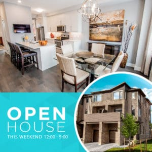 VIBE Townhomes Open House Banner