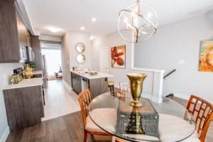 VIBE Townhome Dining Room