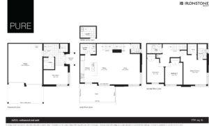 Azul - Enhanced End Floor Plan