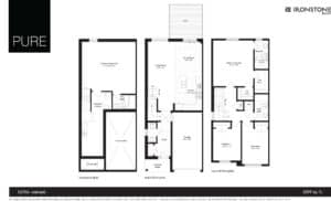 Luna - End Unit Floor Plan
